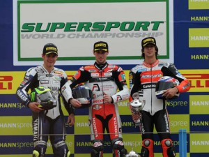 Seconda vittoria di Laverty in Supersport