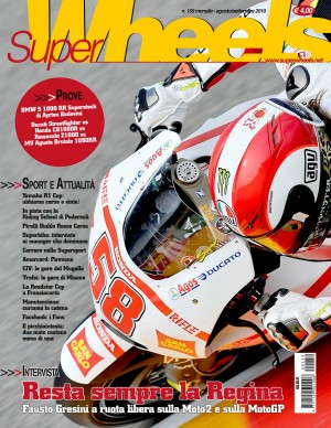 IN EDICOLA SUPER WHEELS N. 159, AGO/SETT 2010